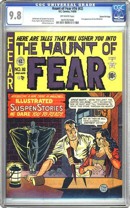 CGC Graded Comics - Haunt of Fear #16 (#2) (CGC)