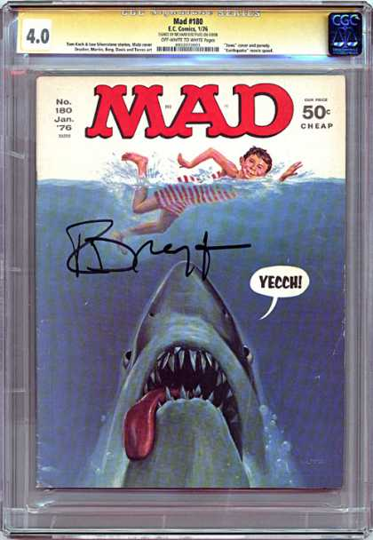 CGC Graded Comics - Mad #180 (CGC)
