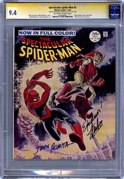 CGC Graded Comics - Spectacular Spider-Man #2 (CGC)