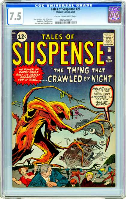 CGC Graded Comics - Tales of Suspense #26 (CGC)