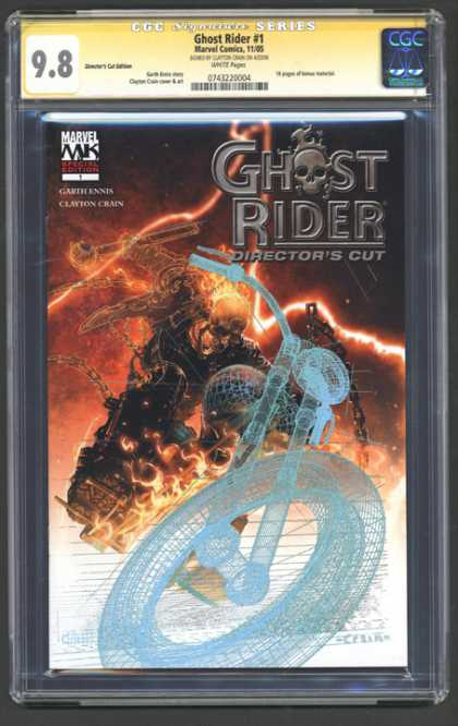 CGC Graded Comics - Ghost Rider #1 (CGC)