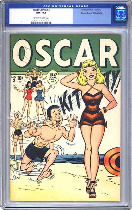 CGC Graded Comics - Oscar Comics #3 (CGC)
