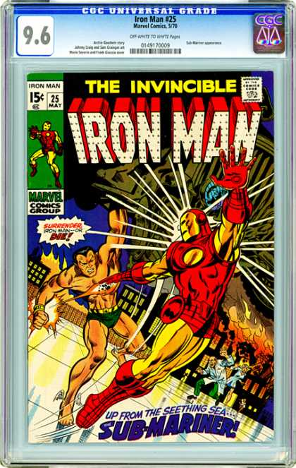 CGC Graded Comics - Iron Man #25 (CGC)