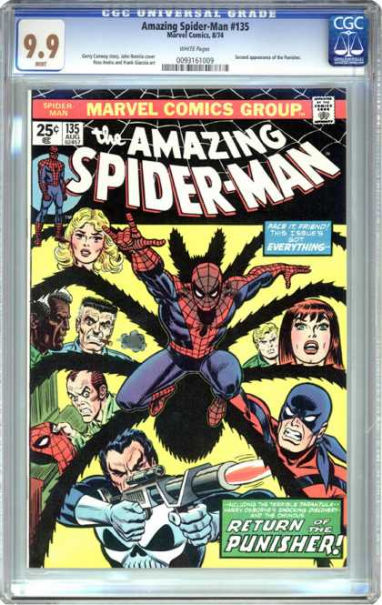 CGC Graded Comics - Amazing Spider-Man #135 (CGC)