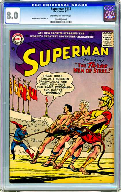 CGC Graded Comics - Superman #112 (CGC)