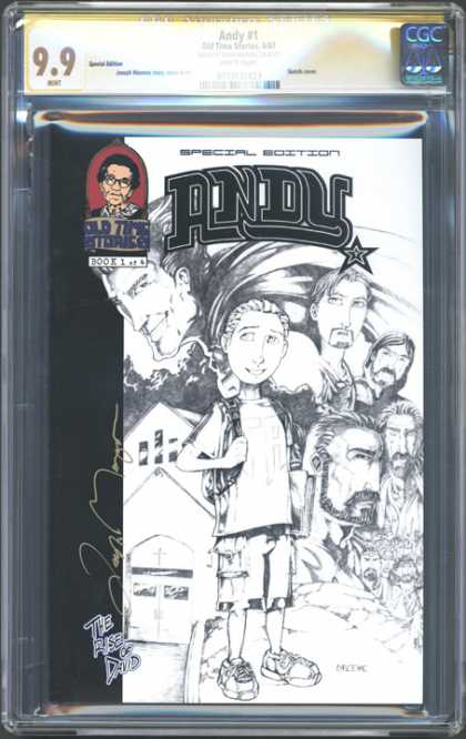 CGC Graded Comics - Andy #1 (CGC) - Old Times Stories - Andy - Special Edition - The Rise Of David - Cross