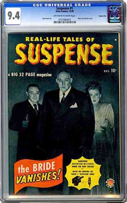 CGC Graded Comics - Suspense #1 (CGC)