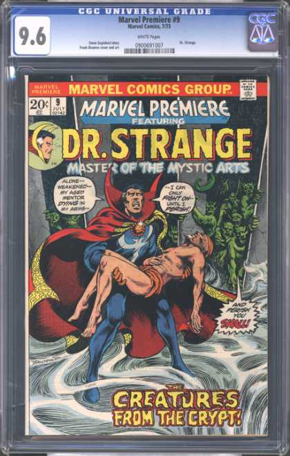 CGC Graded Comics - Marvel Premiere #9 (CGC)