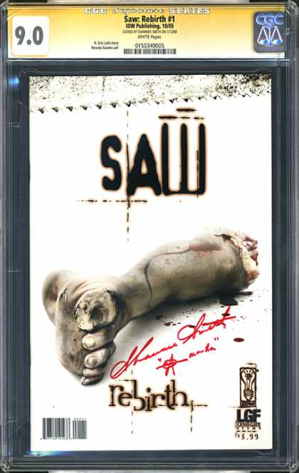 CGC Graded Comics - Saw Rebirth #1 (CGC)