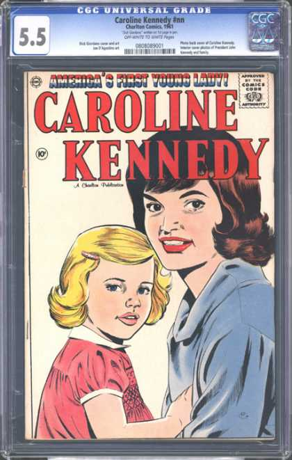 CGC Graded Comics - Caroline Kennedy #nn (CGC)