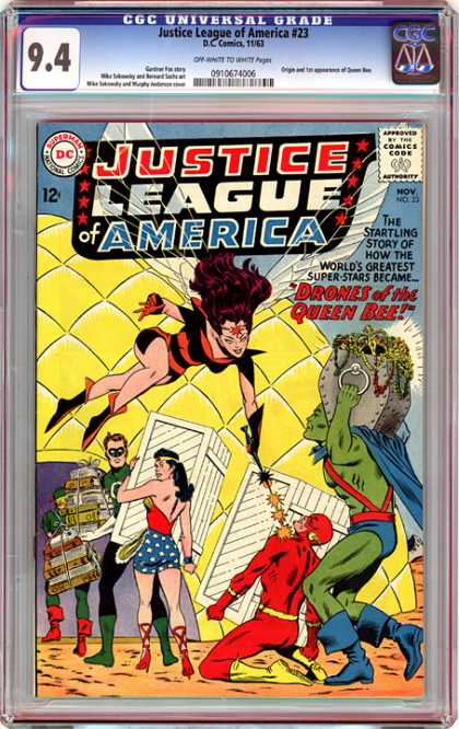 CGC Graded Comics - Justice League of America #23 (CGC)