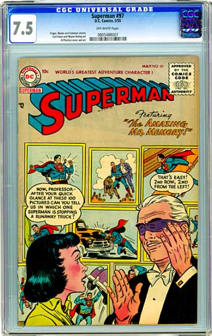 CGC Graded Comics - Superman #97 (CGC)