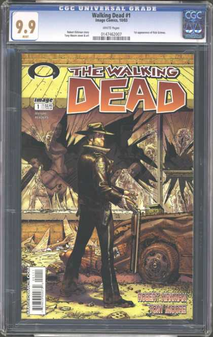 CGC Graded Comics - Walking Dead #1 (CGC)