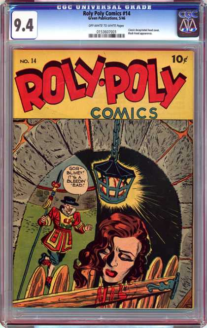 CGC Graded Comics - Roly Poly Comics #14 (CGC)