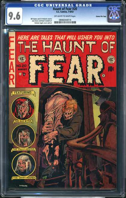 CGC Graded Comics - Haunt of Fear #20 (CGC)