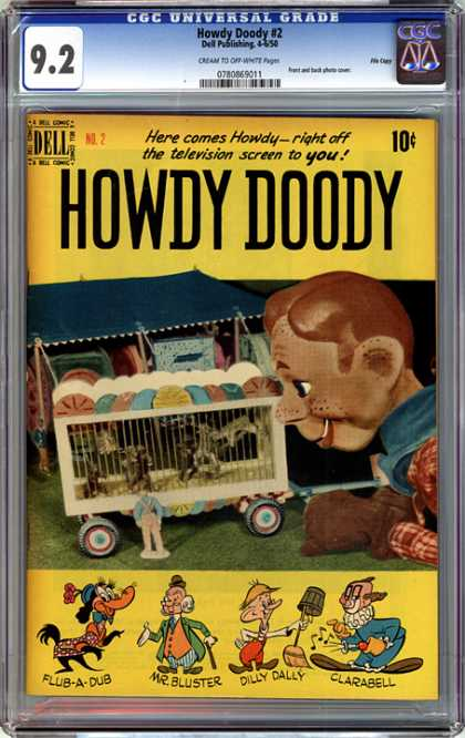 CGC Graded Comics - Howdy Doody #2 (CGC)