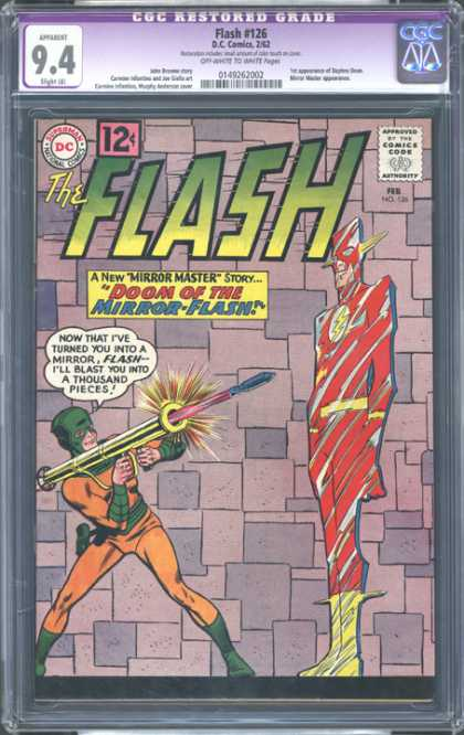 CGC Graded Comics - Flash #126 (CGC)