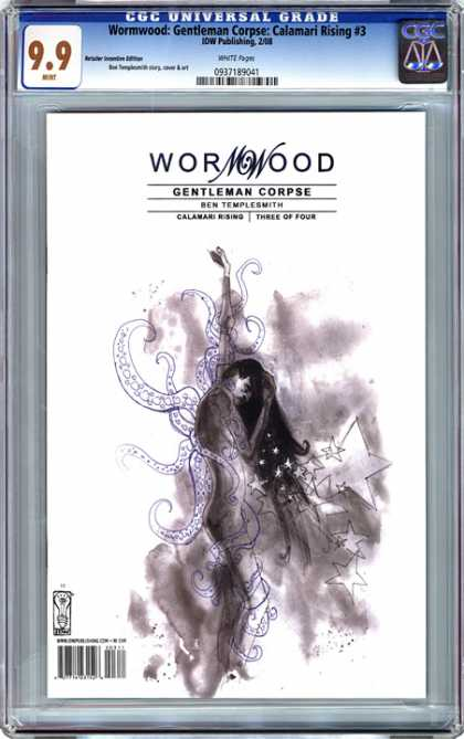 CGC Graded Comics - Wormwood: Gentleman Corpse: Calamari Rising #3 (CGC) - Wormwood - Gentleman Corpse - Ben Templesmith - Three Of Four - Calamari Rising