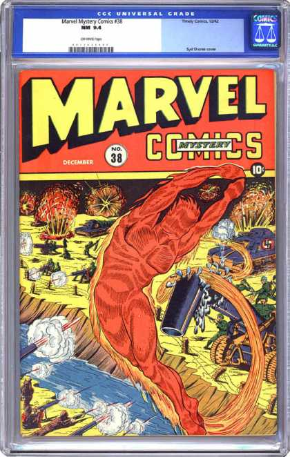 CGC Graded Comics - Marvel Mystery Comics #38 (CGC)