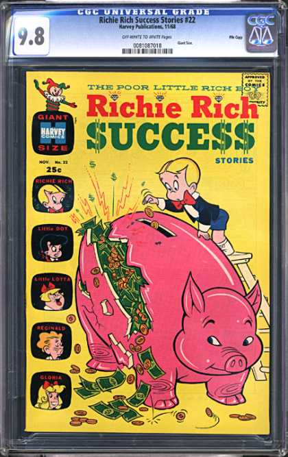 CGC Graded Comics - Richie Rich Success Stories #22 (CGC)