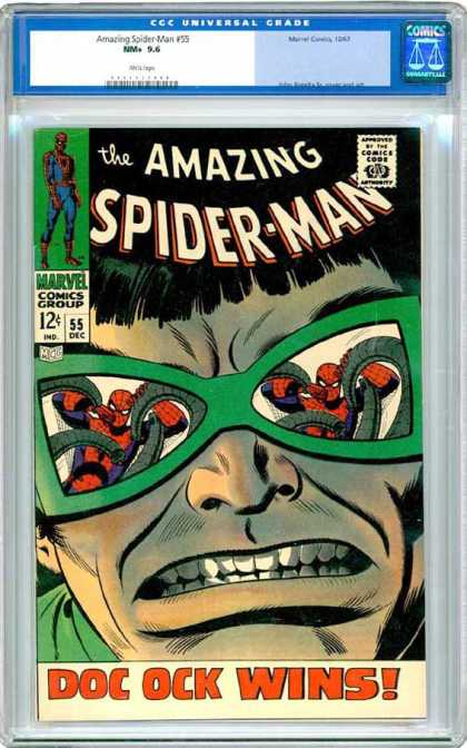 CGC Graded Comics - Amazing Spider-Man #55 (CGC)