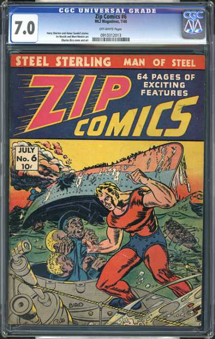 CGC Graded Comics - Zip Comics #6 (CGC)