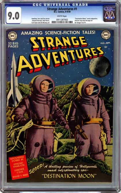 CGC Graded Comics - Strange Adventures #1 (CGC)