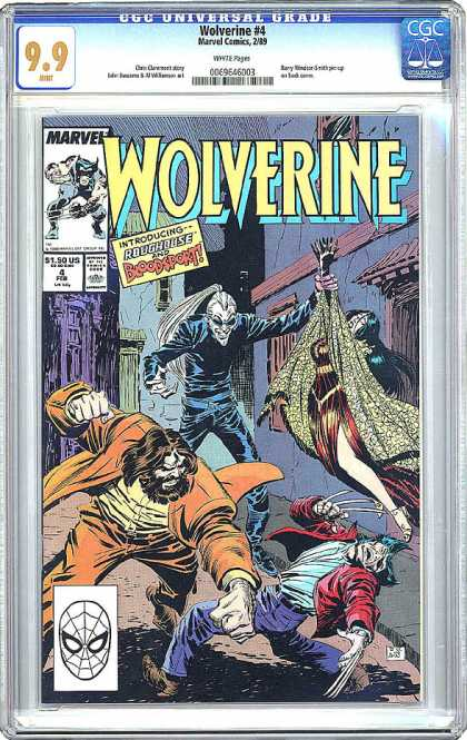 CGC Graded Comics - Wolverine #4 (CGC)