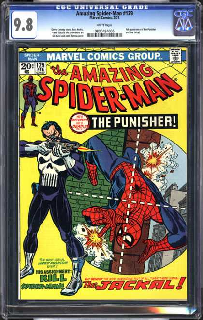 CGC Graded Comics - Amazing Spider-Man #129 (CGC)