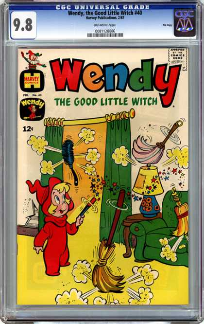 CGC Graded Comics - Wendy, the Good Little Witch #40 (CGC)
