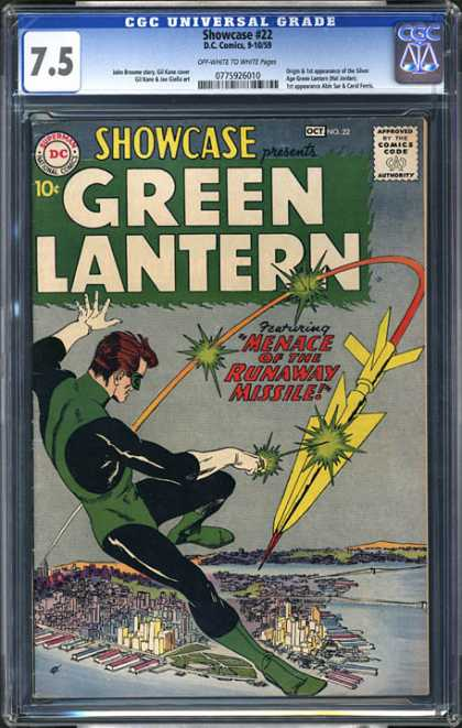 CGC Graded Comics - Showcase #22 (CGC) - Old School - Eco Friendly - Lighting The Way - Showing The Path - Intergalactic