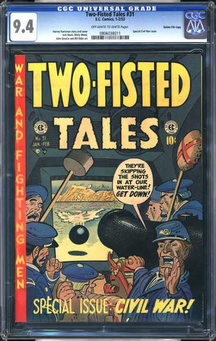 CGC Graded Comics - Two-Fisted Tales #31 (CGC)