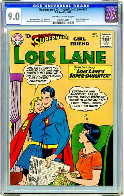 CGC Graded Comics - Superman's Girlfriend Lois Lane #20 (CGC)