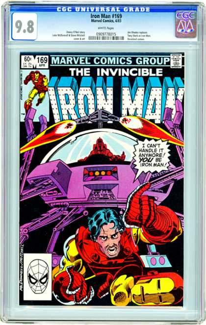 CGC Graded Comics - Iron Man #169 (CGC)