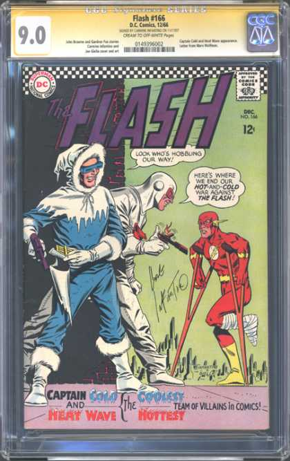 CGC Graded Comics - Flash #166 (CGC)