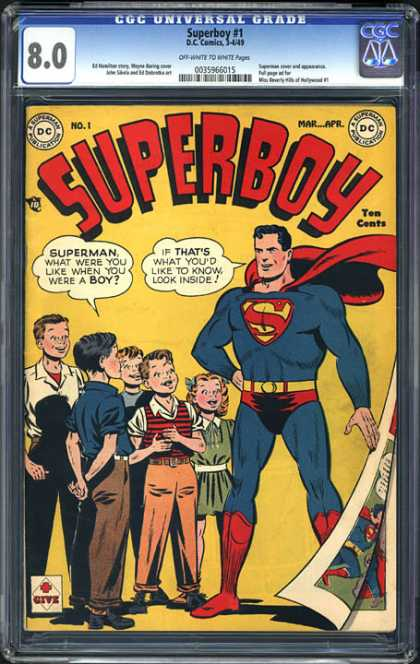 CGC Graded Comics - Superboy #1 (CGC)