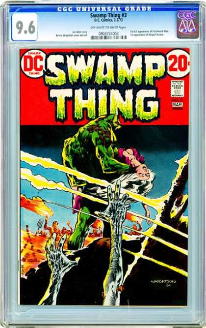 CGC Graded Comics - Swamp Thing #3 (CGC)