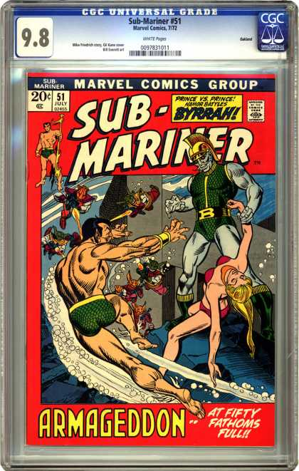 CGC Graded Comics - Sub-Mariner #51 (CGC)