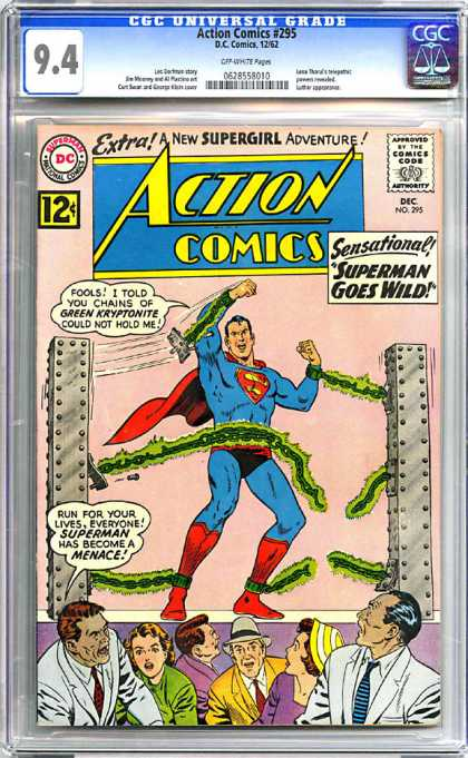 CGC Graded Comics - Action Comics #295 (CGC)