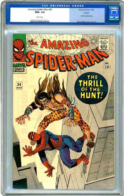 CGC Graded Comics - Amazing Spider-Man #34 (CGC)