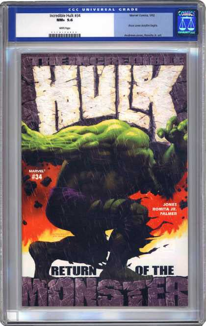 CGC Graded Comics - Incredible Hulk #34 (CGC)