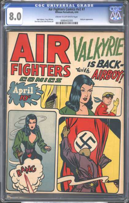 CGC Graded Comics - Air Fighters Comics #v2 #7 (CGC)