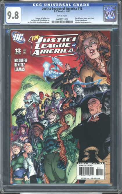 CGC Graded Comics - Justice League of America #13 (CGC)