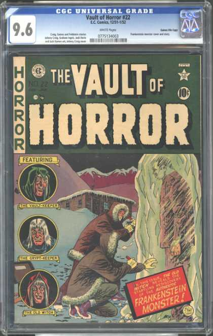 CGC Graded Comics - Vault of Horror #22 (CGC)