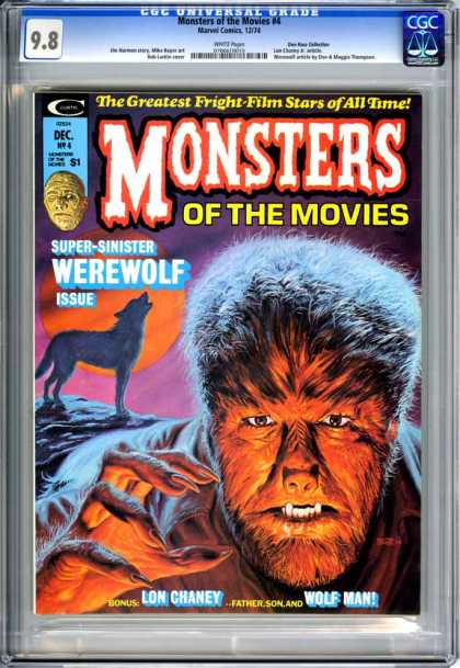 CGC Graded Comics - Monsters of the Movies #4 (CGC)