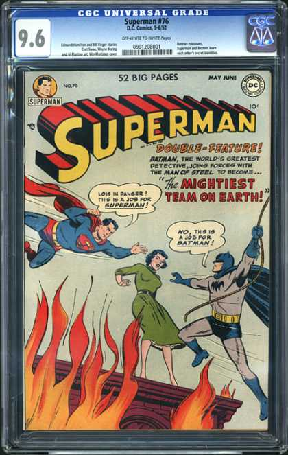 CGC Graded Comics - Superman #76 (CGC)