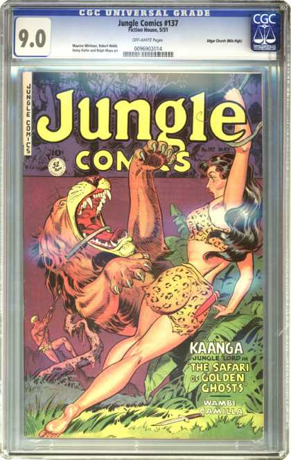 CGC Graded Comics - Jungle Comics #137 (CGC)