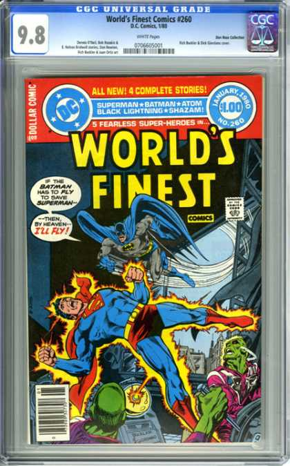CGC Graded Comics - World's Finest Comics #260 (CGC)
