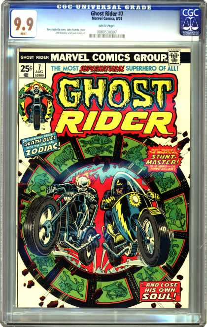 CGC Graded Comics - Ghost Rider #7 (CGC)