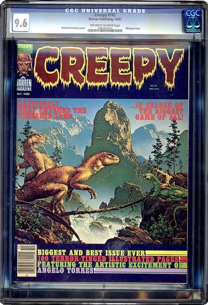 CGC Graded Comics - Creepy #142 (CGC)